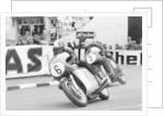 Giacomo Agostini on bike number 6, Tom Dickie on bike number 3 by Anonymous