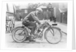 Harry Collier on a Matchless bike by Anonymous