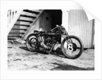 A Matchless bike by Anonymous