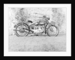 1924 Henderson motobike by Unknown