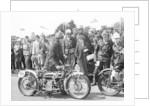 1926 Douglas motorbike by Anonymous