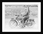 1918 500cc BSA WD motorcycle by Anonymous