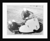 BMW Motorbike and sidecar combination by Anonymous
