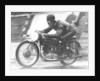 Ted Mellors winning the Lightweight TT Isle of Man race, on a 1939 Benelli by Anonymous