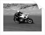 An Ariel 250 racing at Snetterton by Anonymous
