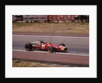 Jacky Ickx in a Ferrari by Anonymous