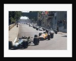 Action from the Monaco Grand Prix by Anonymous