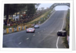 Ford GT40 leading Alpine A210 Renault by Anonymous