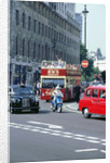 Busy traffic in London 1999 by Unknown