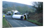 1997 Mercedes tanker road accident by Unknown