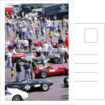 1996 Coys historic festival.Cars in the paddock by Unknown