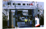 Lymington Car Ferry bound for Yarmouth, Isle of Wight, 2000 by Unknown