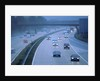 M27 Motorway in poor weather by Unknown