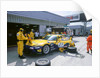 1999 Chrysler Viper,fia gt silverstone 500, in pits by Unknown