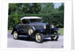 1930 Ford Model A roadster by Unknown