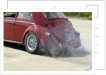 VW Beetle Burning out by Unknown