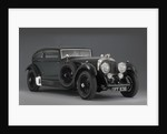 1930 Bentley 6.5 litre coupe Blue Train by Unknown