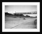 Cars racing on Byfleet Banking during the BRDC 500 Mile Race, Brooklands, 3 October 1931 by Bill Brunell