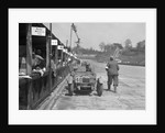 AF Ashby and R Pauing's Riley 9 Brooklands at the JCC Double Twelve race, Brooklands, 8/9 May 1931 by Bill Brunell