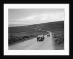Austin 7 AEW of AL Chard ahead of FG Cornish's MG TA at the MCC Torquay Rally, July 1937 by Bill Brunell