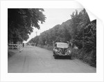 GM Denton's Ford V8, winner of a bronze award at the MCC Torquay Rally, July 1937 by Bill Brunell