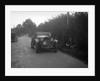 Lagonda taking part in the Bugatti Owners Club car treasure hunt, 25 October 1931 by Bill Brunell