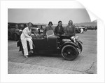 MG M type at Brooklands by Bill Brunell