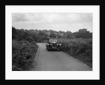 Austin 20 taking part in a First Aid Nursing Yeomanry trial or rally, 1931 by Bill Brunell