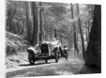 Open high chassis Lagonda taking part in the North West London Motor Club Trial, 1 June 1929 by Bill Brunell
