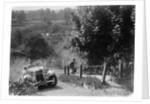 1933 Standard Avon taking part in a West Hants Light Car Club Trial, Ibberton Hill, Dorset, 1930s by Bill Brunell