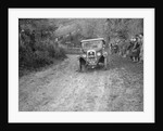 1928 Austin 12/4 4-seater tourer taking part in the Inter-Varsity Trial, 1930 by Bill Brunell