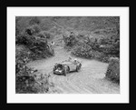 1934 MG PA of the Cream Cracker team taking part in a motoring trial in Devon, late 1930s by Bill Brunell