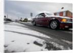 BMW driving in slush, Blackfield 2009 by Unknown