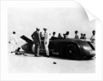 Sunbeam 1000hp World Land speed record attempt at Daytona 1927 by Unknown