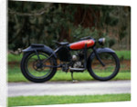 1920 Peters motorcycle by Unknown