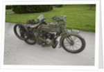 1917 Vickers Clyno Combination by Unknown