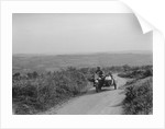 Brough Superior and sidecar of FW Stevenson competing in the MCC Torquay Rally, 1938 by Bill Brunell