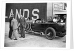 22 litre Benz of GK Clowes at a Surbiton Motor Club race meeting, Brooklands, Surrey, 1928 by Bill Brunell