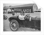 Coppa Florio type Sunbeam of EL Bouts, Surbiton Motor Club race meeting, Brooklands, Surrey, 1928 by Bill Brunell