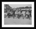 Cars at the JCC 200-mile Race, Brooklands, Surrey, 1921. by Bill Brunell