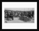 Raymond Mays' Bugatti Brescia and JS Chance's Enfield Allday, Porthcawl Speed Trials, Wales, 1922 by Bill Brunell