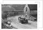 Triumph of FA Thatcher competing in the MCC Sporting Trial, 1930 by Bill Brunell