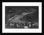 Bentley of Eddie Hall competing in the Shelsley Walsh Hillclimb, Worcestershire, 1935 by Bill Brunell