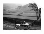 Kitty Brunell road testing a Standard Little Twelve saloon, c1932 by Bill Brunell
