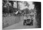 MG TA of Archie Langley of the Three Musketeers team, MCC Torquay Rally, Torbay, Devon, 1938 by Bill Brunell