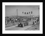 Bugatti Type 43 of AF Walsham competing in the Bugatti Owners Club Lewes Speed Trials, Sussex, 1937 by Bill Brunell