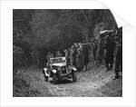 R Peaty's Singer open 4-seater tourer competing in the JCC Half-Day Trial, 1930 by Bill Brunell