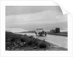 Austin sports saloon of Mrs MS Flewitt competing in the RSAC Scottish Rally, 1934 by Bill Brunell