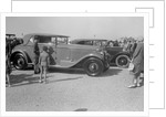 Minerva 2-door coupe at Boulogne Motor Week, France, 1928 by Bill Brunell