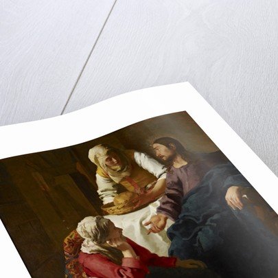 Christ in the House of Martha and Mary by Jan Vermeer